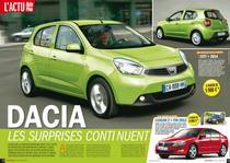 Dacia City si Logan 2 in viziunea Auto Plus