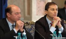 Traian Basescu si Daniel Morar