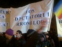 Banner al asociatiei Amare Rromentza