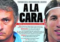 Mourinho vs Ramos