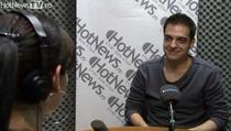 Ionut Grama in studioul HotNews.ro