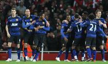 United, victorie pe terenul lui Arsenal