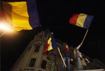 Fotogalerie: A 11-a zi de proteste in Bucuresti