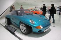 Porsche Studie Panamericana in Muzeul Porsche