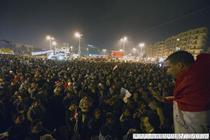 Piata Tahrir, aniversand un an de la revolutie