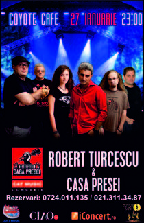 Robert Turcescu si Casa Presei