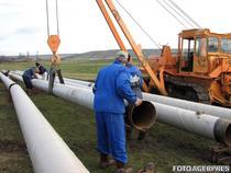 Lucrari la retea de gaze naturale, sub program