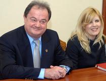 Vasile Blaga si Elena Udrea