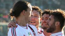 Ibrahimovic, inca o reusita pentru AC Milan