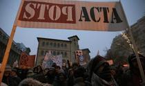 Protest impotriva ACTA / Bucuresti, Piata Universitatii, 11.02.2012