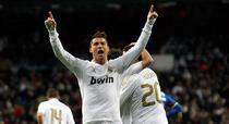 "Ronaldo, ""tripla"" pentru Real Madrid"