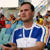 Antrenorul Valeriu Tomescu