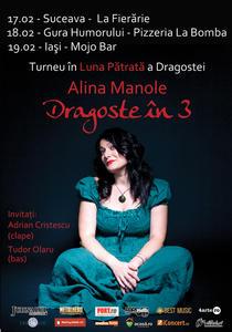 afis turneu Alina Manole