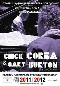 afis Chick Corea si Gary Burton