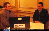 Victor Ponta, in dialog cu Marian Petruta (NARPA)