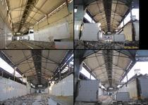 FOTOGALERIE Distrugerea Halei Matache