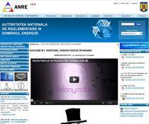 Site-ul ANRE, atacat de hackeri