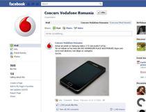 Inselatorie pe Facebook cu imaginea Vodafone