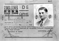 Biletul de urcare pe nava Struma al lui David Stoliar