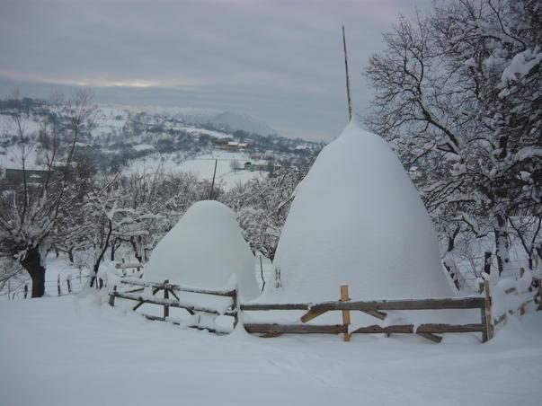 Iarna la Sohodol