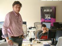Razvan Mitroi in redactia Digi 24