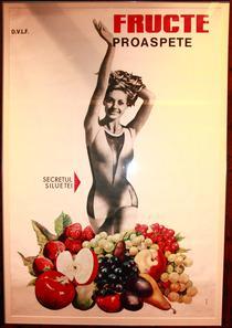 Afis Fructe Proaspete, anii '80