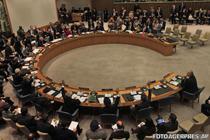 Consiliul de Securitate ONU, in timpul unui vot
