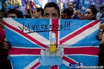Proteste anti-britanice in Argentina: Ne vom intoarce