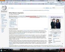 Pagina lui Razvan Ungureanu pe Wikipedia, 6 febr. 20:12