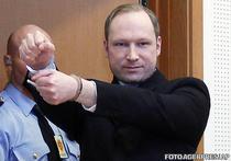 Anders Breivik, in fata judecatorilor