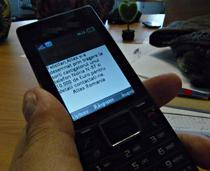 Phishing prin SMS