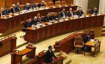 Victor Ponta si Guvernul Ungureanu in Parlament