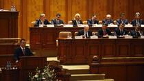 Fotogalerie: Guvernul Ungureanu a fost investit de Parlament
