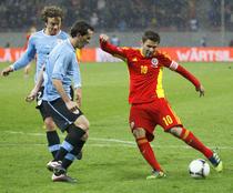 Adrian Mutu contra Uruguayului