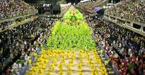 Carnavalul de la Rio, miniaturizat