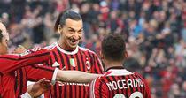 Ibrahimovic, o dubla pentru AC Milan