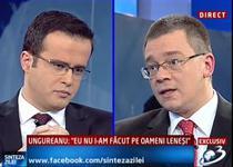 Premierul Ungureanu, invitatul lui Mihai Gadea