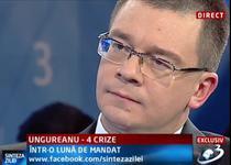 Premierul Ungureanu, la Sinteza zilei