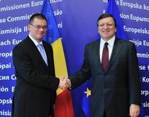 MR Ungureanu si Jose Barroso