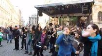 Flashmob Lispcani