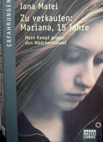 "Coperta cartii ""De vanzare: Mariana, 15 ani"""