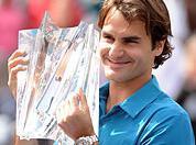 Roger Federer, victorie la Indian Wells