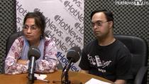 Sujeet Desai si mama sa, Sindoor, in studioul HotNews