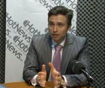 Bogdan Prajisteanu in studioul HotNews.ro