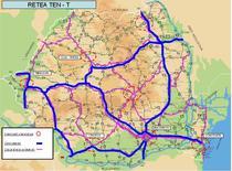 Retea TEN-T pe teritoriul Romaniei-Proiect