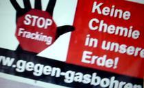 Banner contra fracking