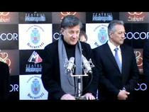 Ion Caramitru la intrarea in Walk Of Fame