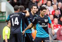 Arsenal a invins pe Anfield Stadium