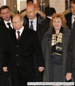 Vladimir Putin si sotia sa, Liudmila