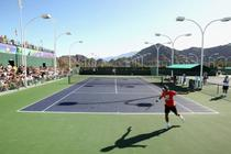 Roger Federer, pe terenurile de la Indian Wells